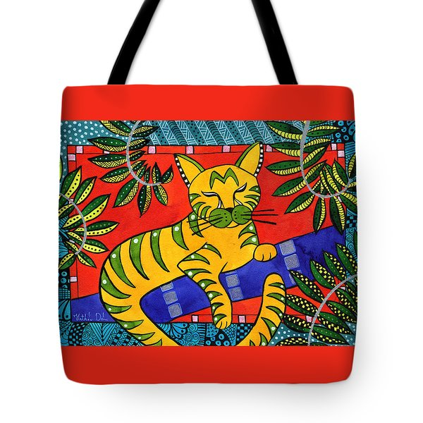 Born To Be Striped Tote Bag