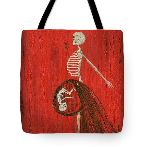 Born To Live E-birth Tote Bag
