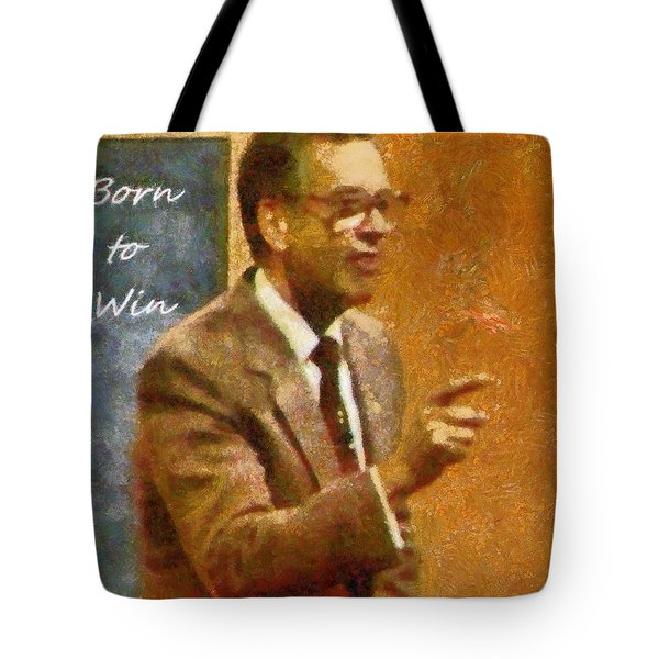 Tote Bag featuring the photograph Born To Win by Mario Carini