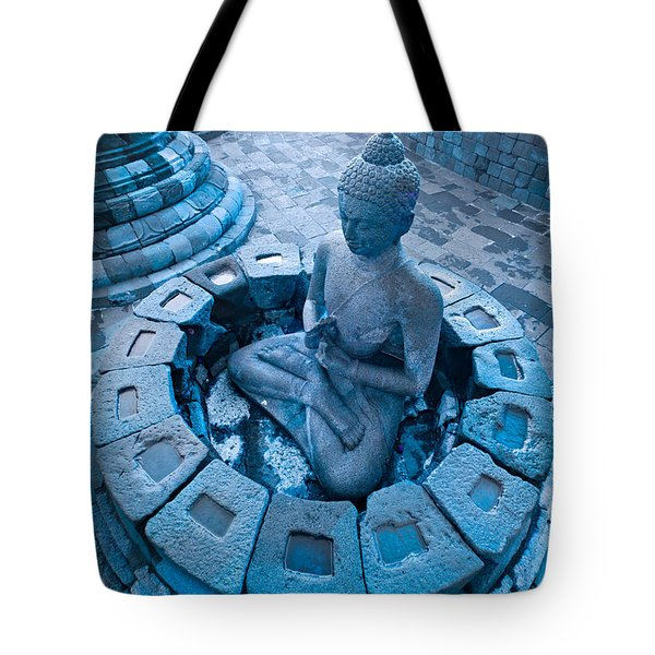 Borobudur Temple Tote Bag