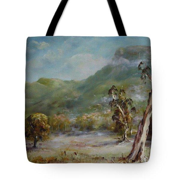 Boronia Peak Tote Bag
