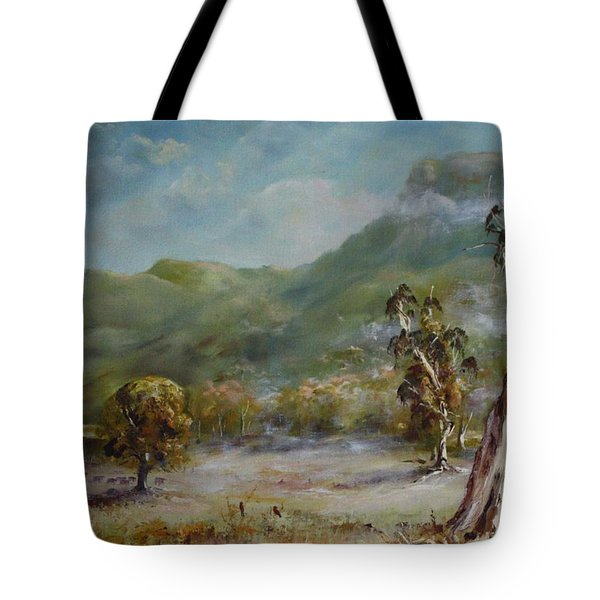 Boronia Peak Tote Bag