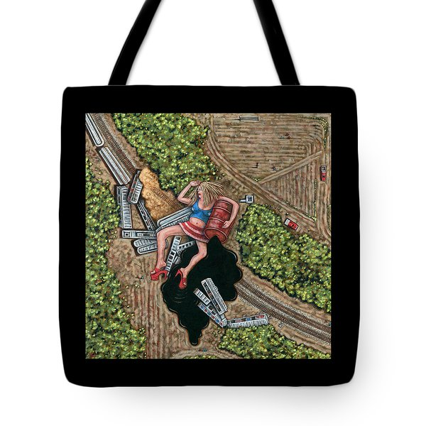 Borrachera Tote Bag