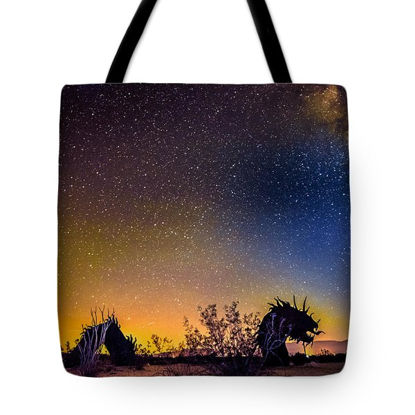 Borrego Springs Dragon Tote Bag