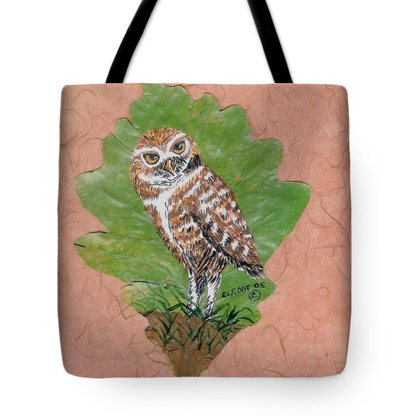 Borrowing Owl Tote Bag