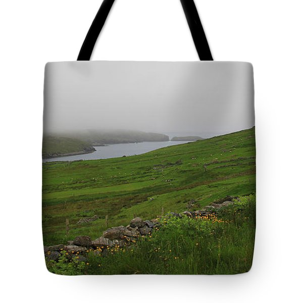Borrowston Morning Clouds Tote Bag