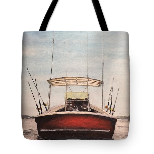 Helen's Boat Tote Bag by Stan Tenney