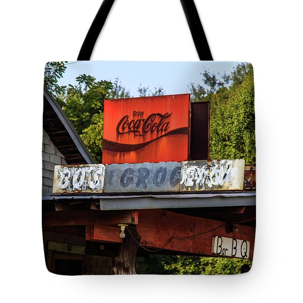 Tote Bag featuring the photograph Bo's Grocery by Doug Camara