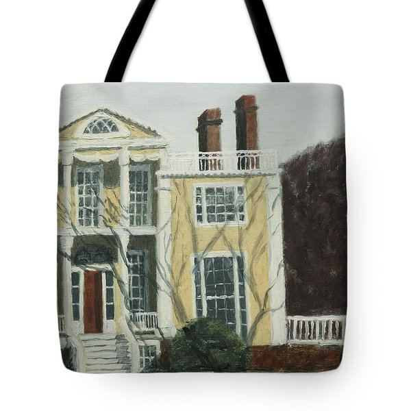 Boscobel In Winter Tote Bag