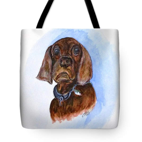 Bosely The Dog Tote Bag