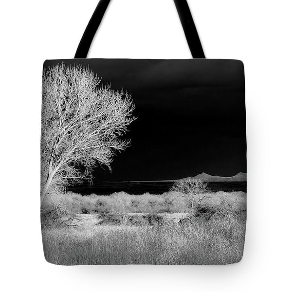 Bosque Del Apache - Infrared Tote Bag