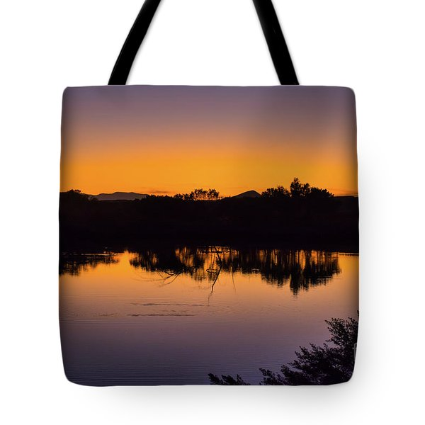 Bosque Del Apache Sunset Tote Bag