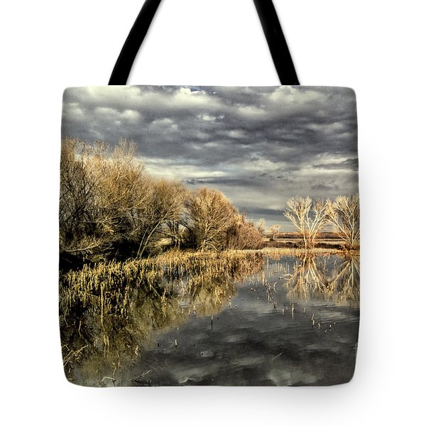 Bosque Dusk Tote Bag