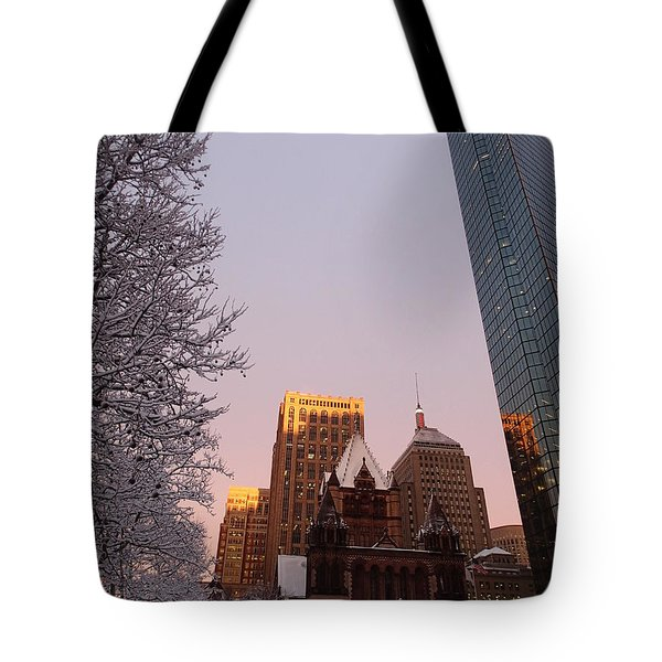 Boston 02/05/16 Tote Bag