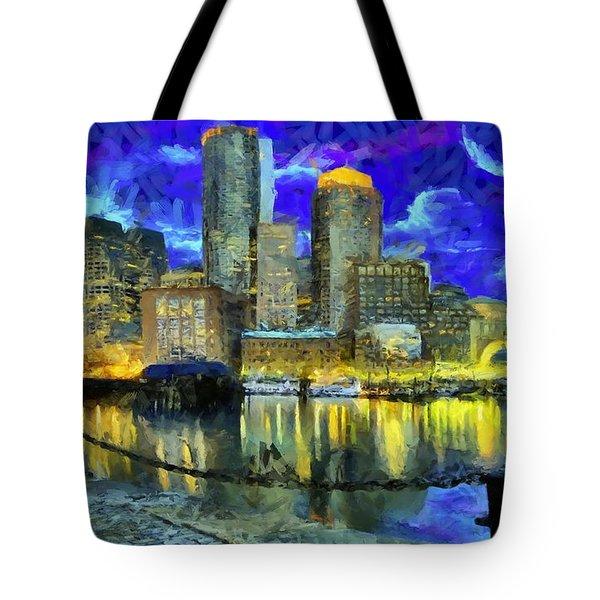 Boston 1 Tote Bag