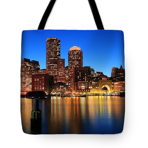 Boston Aglow Tote Bag