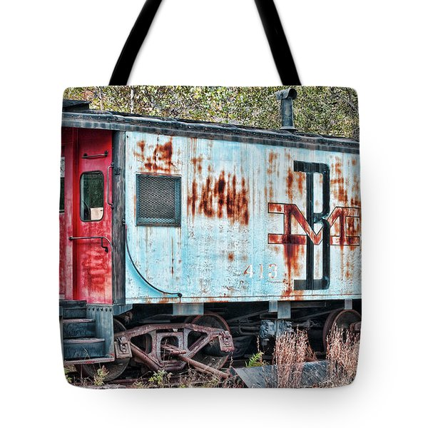 Boston And Maine 413 Tote Bag by Richard Bean