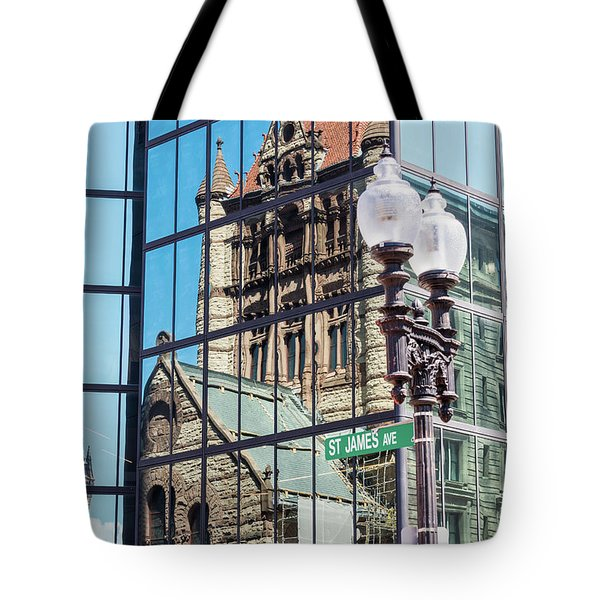 Boston At Different Angle Tote Bag