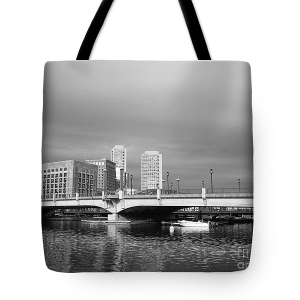 Boston Bridge Tote Bag