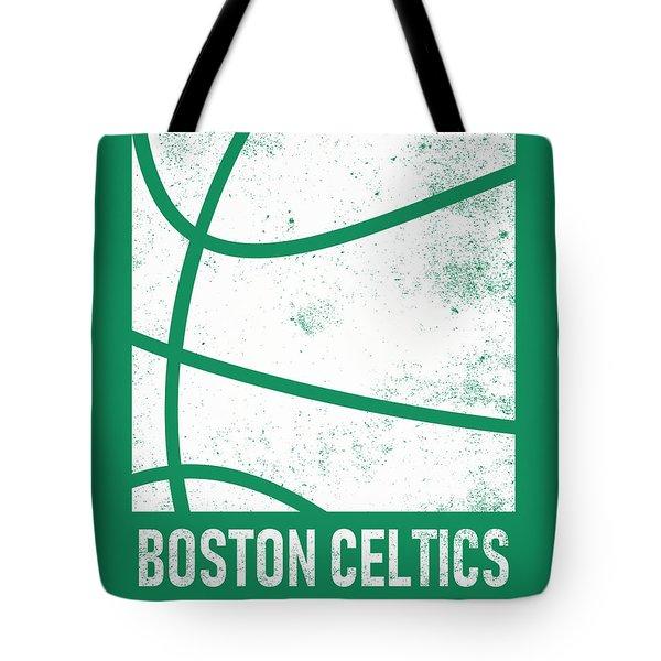 Boston Celtics City Poster Art 2 Tote Bag