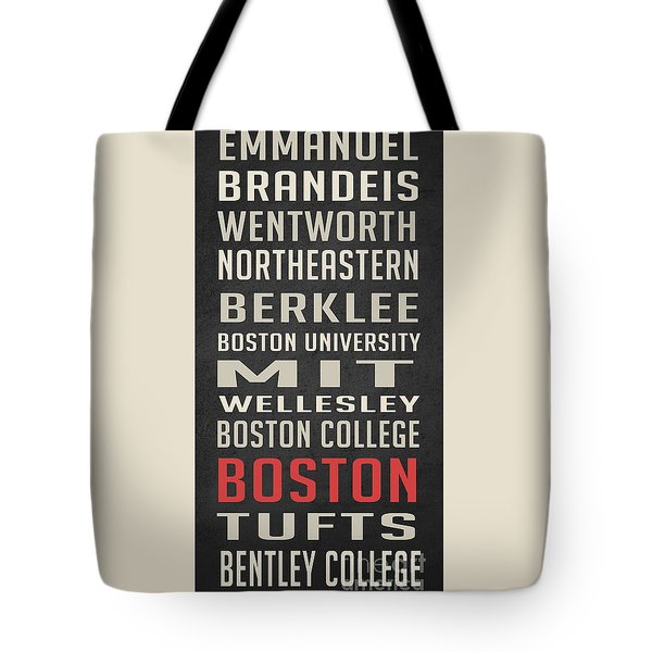 Boston Collegetown Tote Bag by Edward Fielding