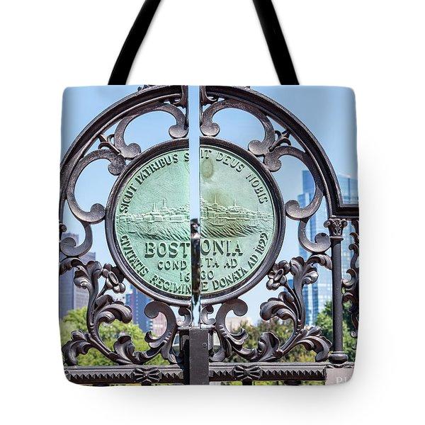Boston Garden Gate Detail Tote Bag