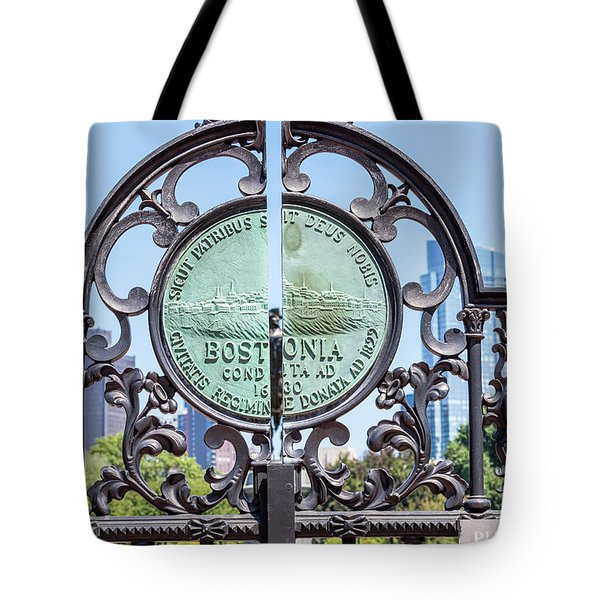 Boston Garden Gate Detail Tote Bag