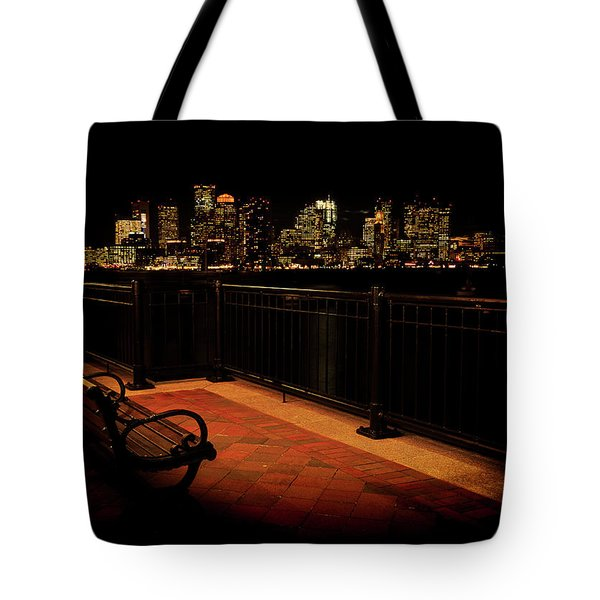 Boston Lamplight Tote Bag