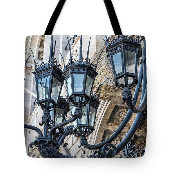 Boston Lamps Tote Bag