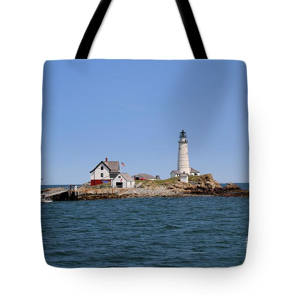 Boston Light Tote Bag