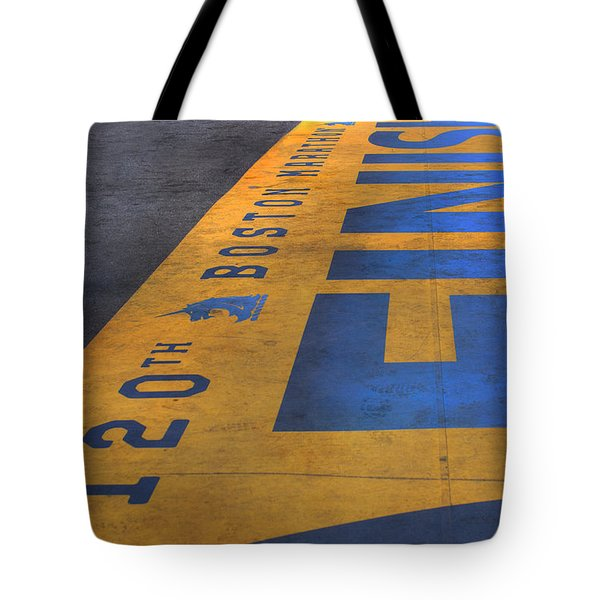 Boston Marathon Finish Line Tote Bag