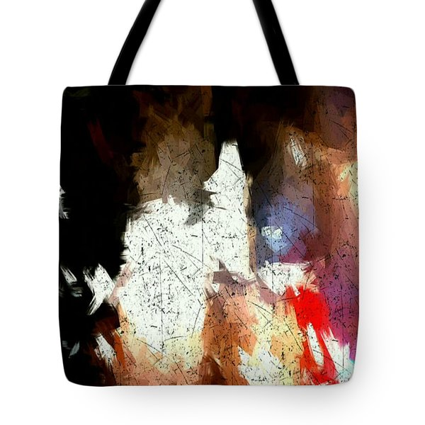 Boston Night Tote Bag