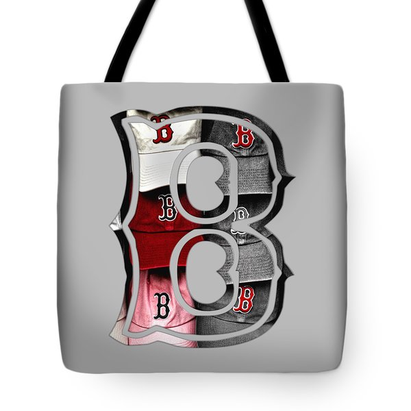 Boston Red Sox B Logo Tote Bag