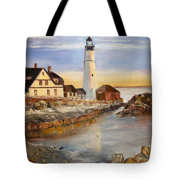 Boston Rocky Coast Tote Bag
