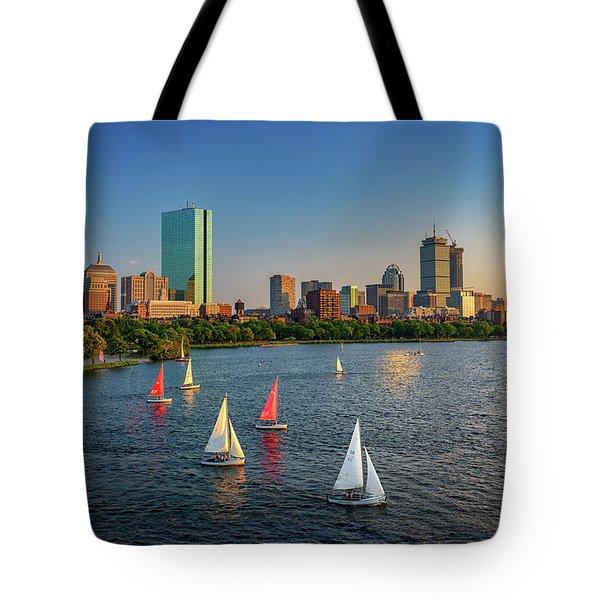 Boston Skyline Summer 2018 Tote Bag