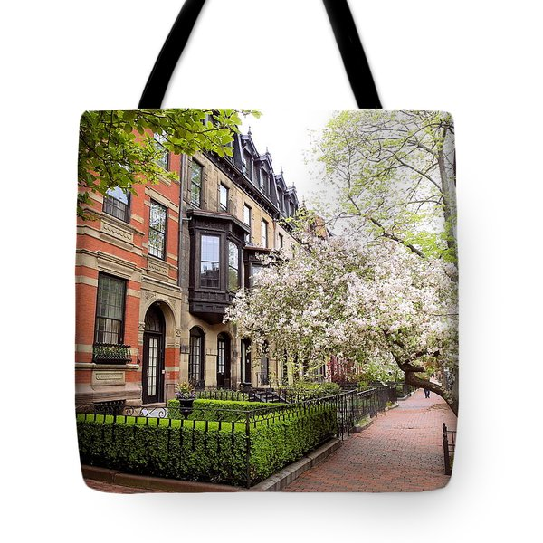 Boston Spring Tote Bag
