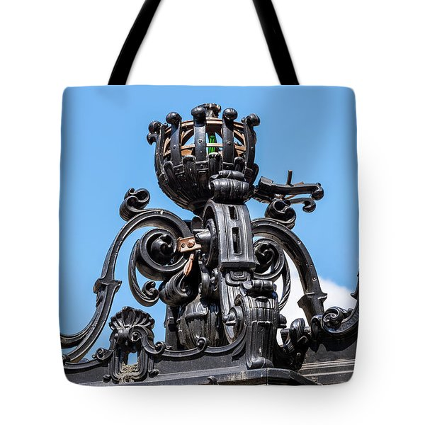 Boston Subway Station Ironwork Detail Tote Bag
