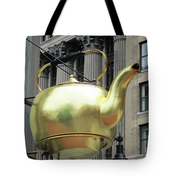 Boston Tea Pot Tote Bag