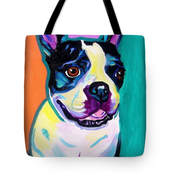 Boston Terrier - Jack Boston Tote Bag