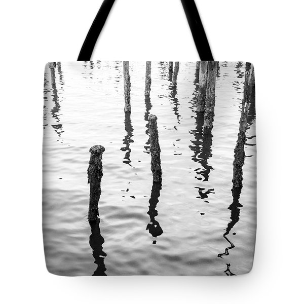 Boston Wharf Ruins Tote Bag