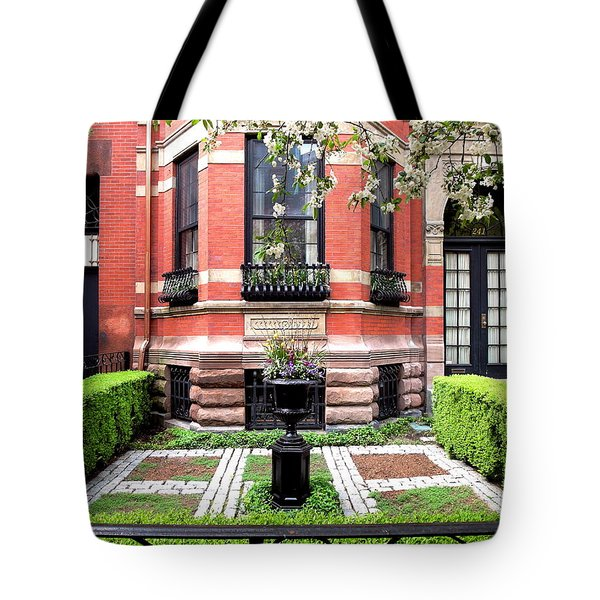 Boston's Back Bay Tote Bag