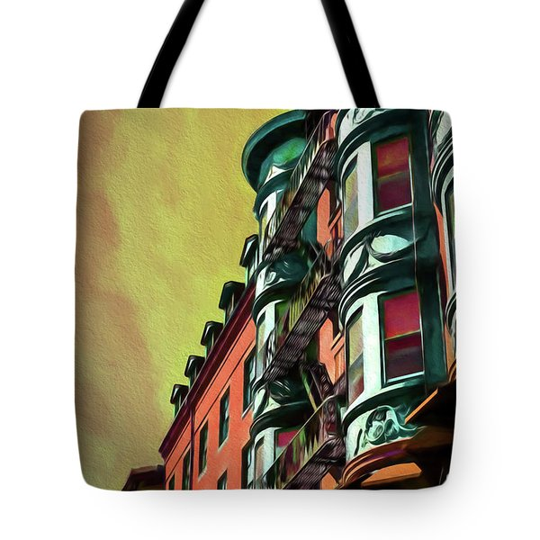 Boston's Famous North Square Tote Bag