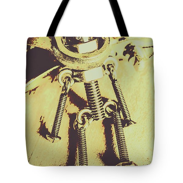 Bot The Builder Tote Bag