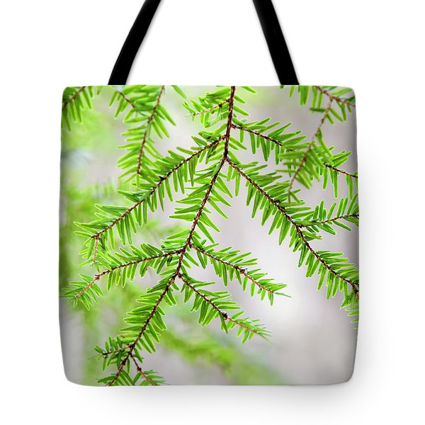 Tote Bag featuring the photograph Botanical Abstract by Christina Rollo