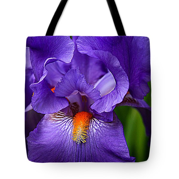 Botanical Beauty In Purple Tote Bag
