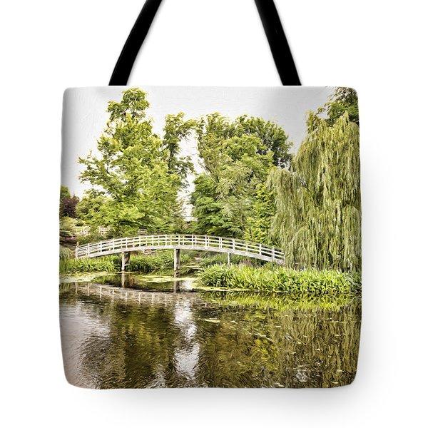 Botanical Bridge - Van Gogh Tote Bag