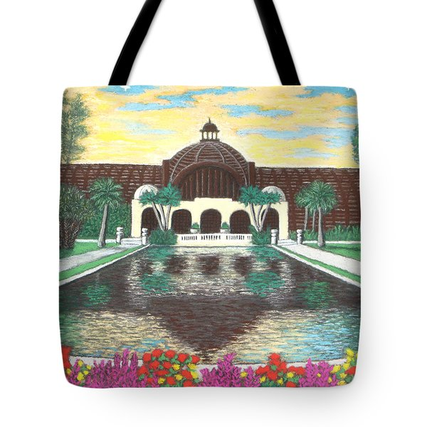Botanical Building In Balboa Park 01 Tote Bag