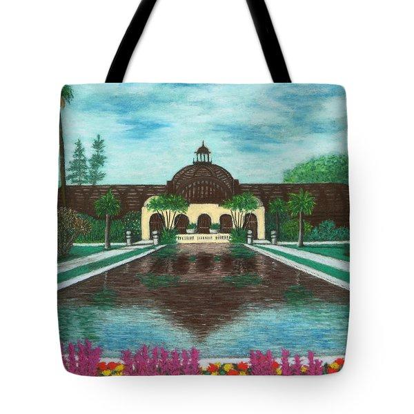 Botanical Building In Balboa Park 02 Tote Bag