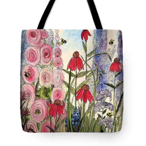 Botanical Wildflowers Tote Bag