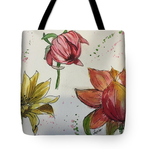 Botanicals Tote Bag by Lucia Grilletto